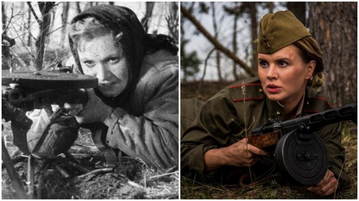 Так видели в СССР девушку-разведчика, а так в современном обществе / Фото: vk.com