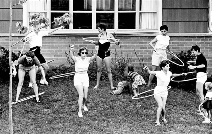 Советские девушки активно занимались спортом / Фото: