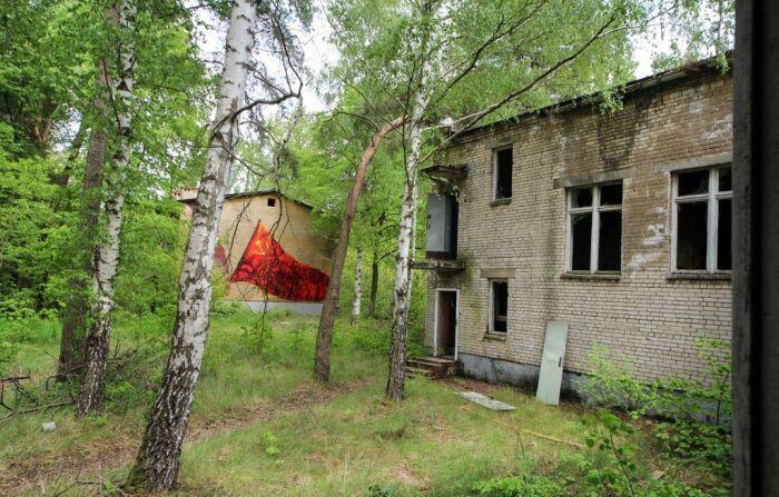 Во времена Советского Союза гарнизон Мёлау имел хорошо развитую инфраструктуру / Фото: technolirik.livejournal.com