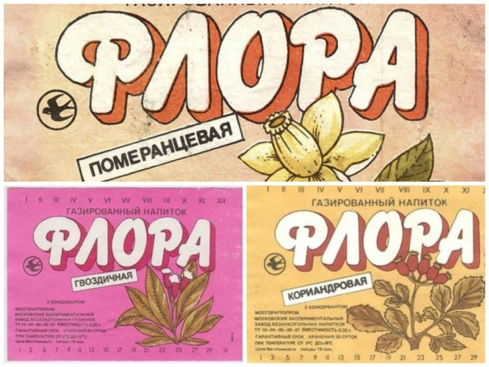 Под маркой Флора выпускали целую линейку лимонадов / Фото: doom-zone.ru