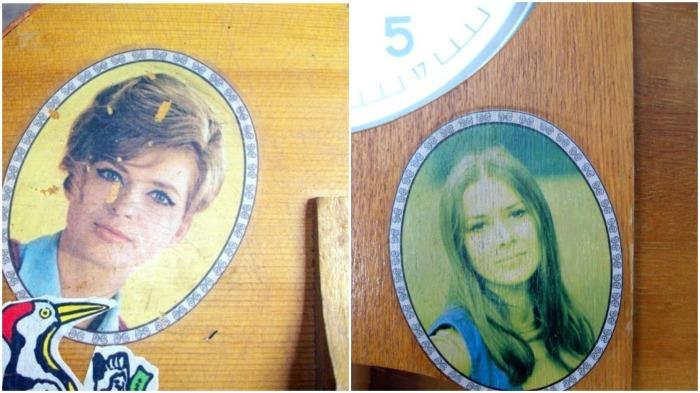 Лица девушек украшали не только гитары, но и мебель, бытовую технику / Фото: musicforums.ru