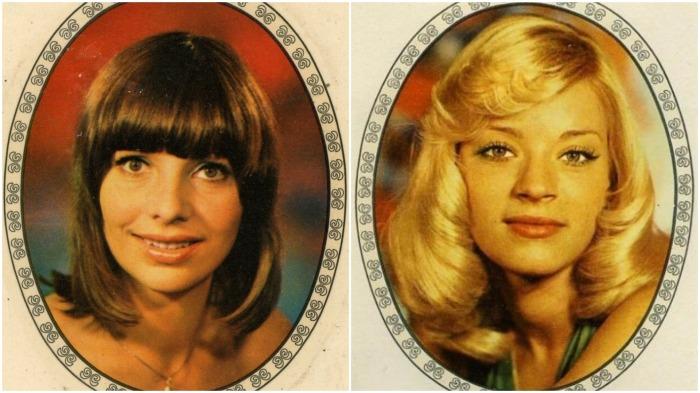 Картинки с изображением актрис, спортсменок, звезд телевидения в рамках выпускали в ГДР / Фото: karhu53.livejournal.com