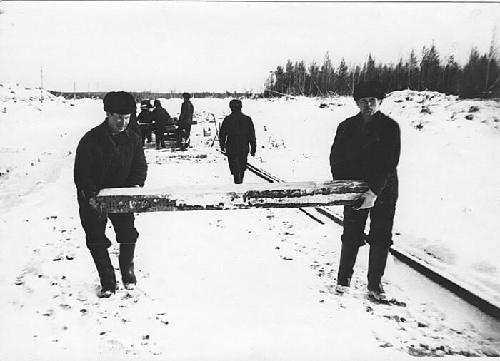 После появления Вятлага железнодорожный путь был протянут в северном направлении от ст. Верхне-Камская на 180 км / Фото: vyatlag.ru