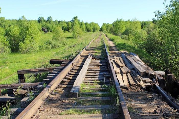 Железнодорожное полотно было проложено до Крутоборки и соединяло большое количество поселений / Фото: rodnaya-vyatka.ru