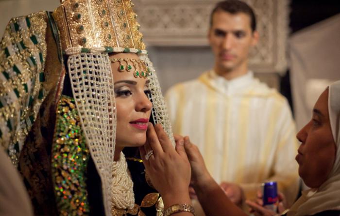 Что касается размера махра, то он устанавливается заранее в индивидуальном порядке между семьями будущих супругов / Фото: vistapointe.net
