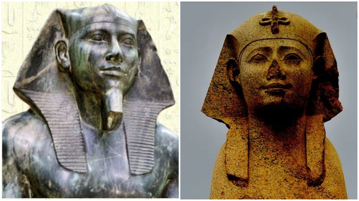 Проанализировав головные уборы этого типа, археолог обнаружил, что данные узоры были характерны для Среднего Царства, а это за несколько веков после Хефрена и Хеопса / Фото: egyptforever.hu