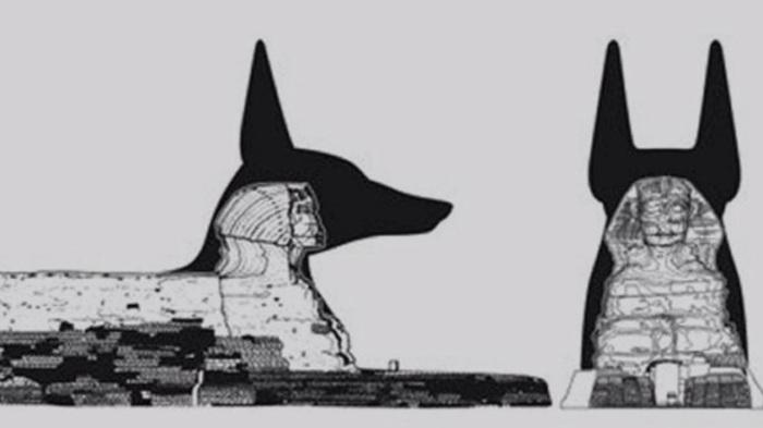 Возможно, голова Сфинкса была изменена путем удаления лишних деталей / Фото: YouTube