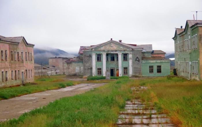 После распада СССР начались проблемы со снабжением поселка / Фото: twitter.com