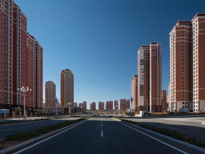 Ордос - один из самых больших городов-призраков Поднебесной / Фото: yandex.ua