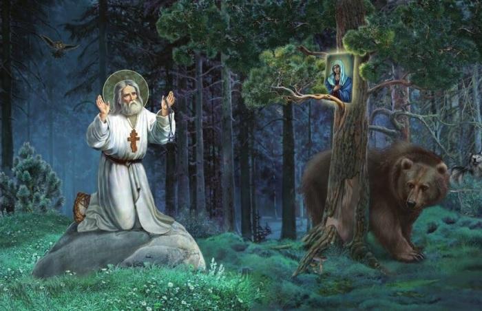 Серафим Саровский - один из наиболее почитаемых святых, поселившийся в Сарове / Фото: yandex.ua