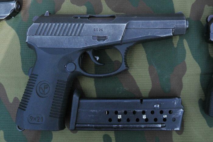 Пистолет Гюрза отличается особыми качествами и является мощным и очень опасным видом оружия / Фото: 10by10.ru