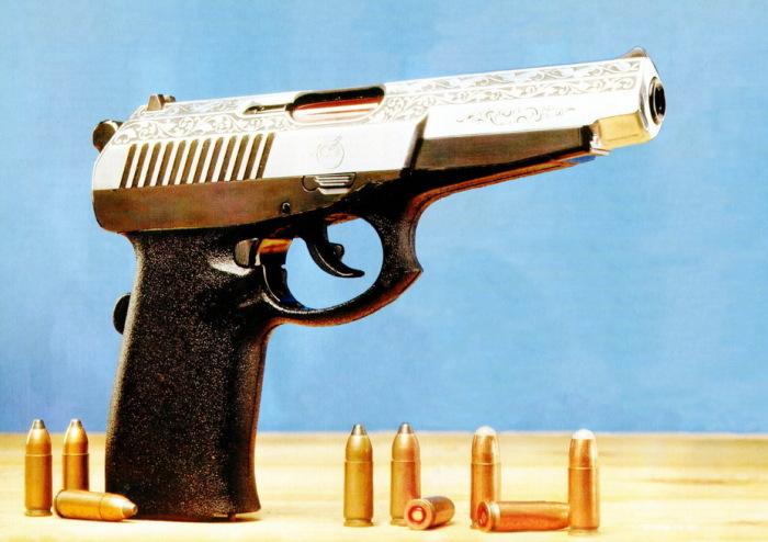 Пистолет разрабатывали непосредственно под пули 9х21 / Фото: warspot.ru