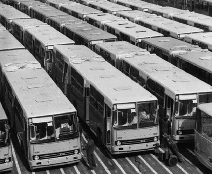 В страну в период 1973-1991 гг. было завезено 49 256 единиц транспортных средств / Фото: igrader.ru