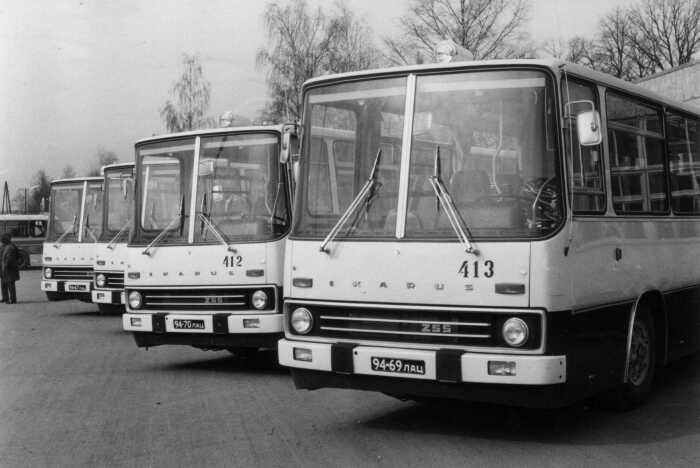 В это время СССР каждый год закупал по шесть-восемь тысяч венгерских автобусов / Фото: vtu-valmiera.lv