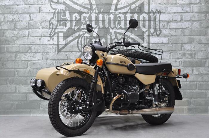 Флагманская модель Урал Gear Up / Фото: destinationcycles.com
