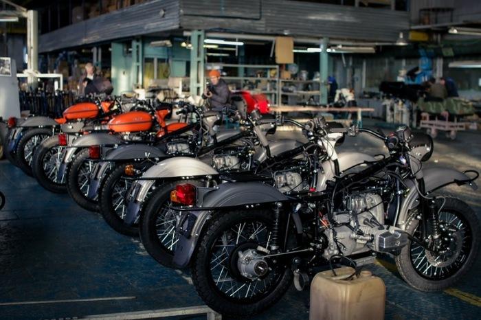 За всю история существования ИМЗ выпустил более 3 млн. мотоциклов / Фото: bikevik-live.ru