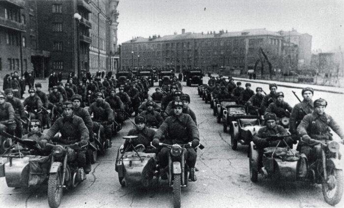 В 1941 году было налажено полномасштабное производство мотоциклов для потребностей армии / Фото: рцпв.рф