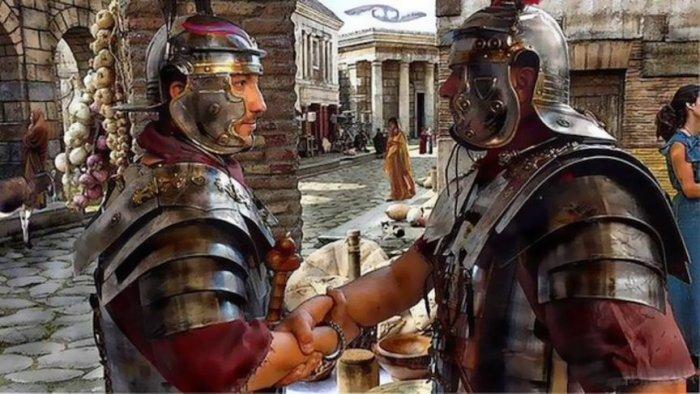 Изначально рукопожатие использовалось для подтверждения дружеских намерений / Фото: masculineepic.com