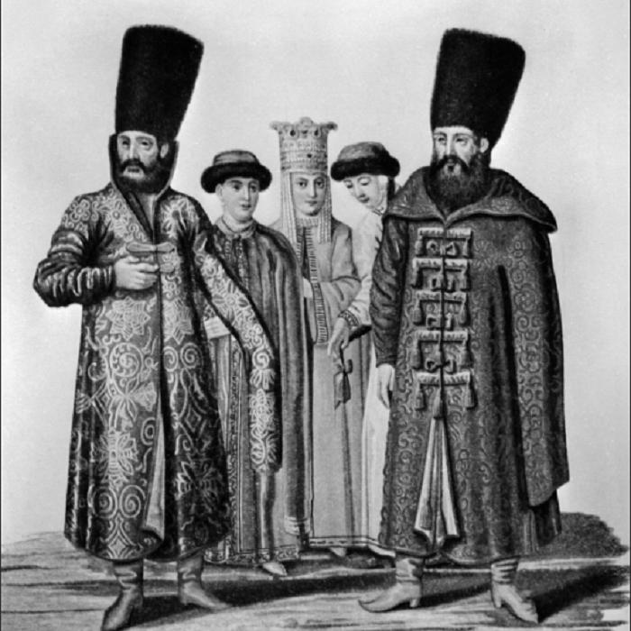 Бояре 16 век / Фото: yandex.ua