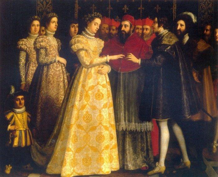 Свадьба Екатерины Медичи и Генриха II / Фото: s30760677253.mirtesen.ru