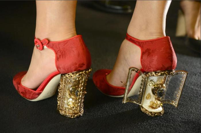 Современные туфли на каблуке / Фото: yandex.com