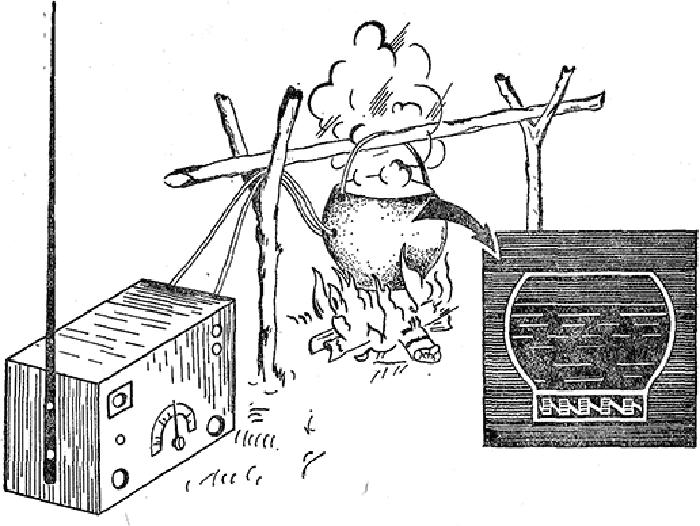 Партизанский котелок, производивший электричество для зарядки раций благодаря жару от костра / Фото: leg.co.ua