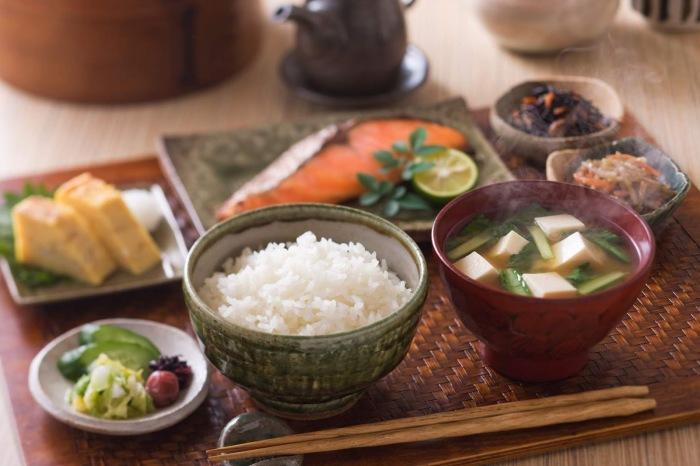 Рис, овощи и суп - традиционные японские блюда / Фото: probento.blogspot.com