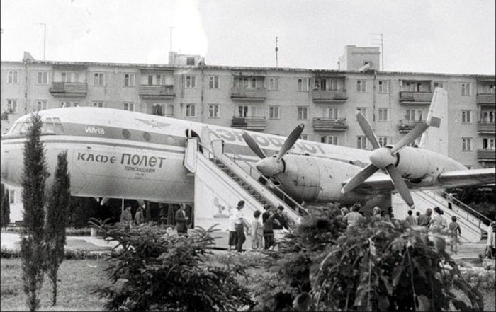 Кафе-самолет в Евпатории / Фото: twitter.com