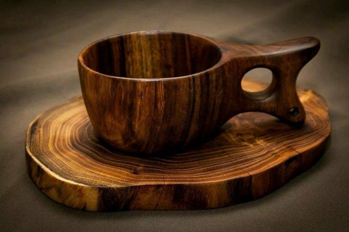 Калабашки делают из твердых пород дерева, в основном из сувеля березы или капа / Фото: yandex.ua