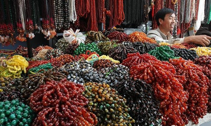 Изделия из камня в Китае очень популярны / Фото: freewechat.com