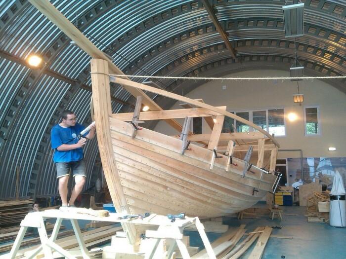 Именно корабелы и помогли канадцам решить вопрос с обработкой деревянных строений, так как их данный вопрос волнует больше, чем всех остальных / Фото: vogu35.ru