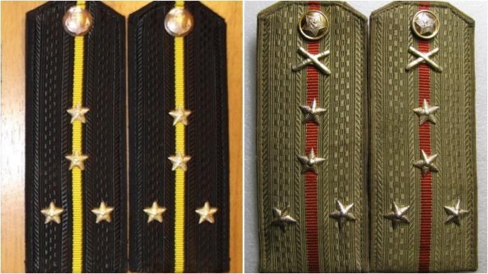 Количество и расположение звезд у капитан-лейтенанта в ВМФ и капитана в сухопутных войсках идентичны / Фото: ay.by