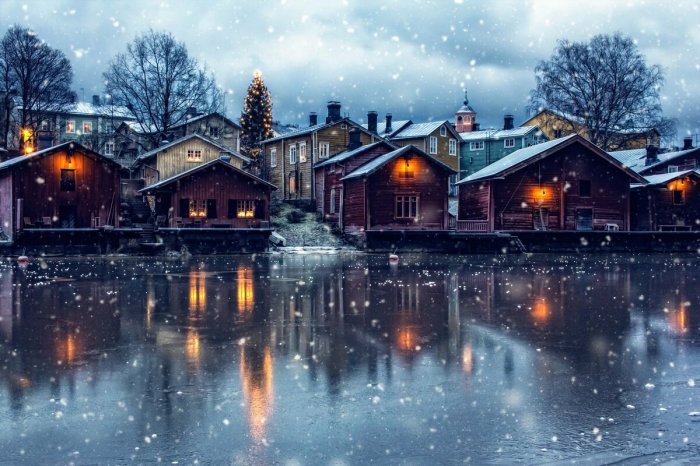 В Скандинавии климат мягче, поэтому жить зимой в каркасных домах вполне комфортно / Фото: yandex.by