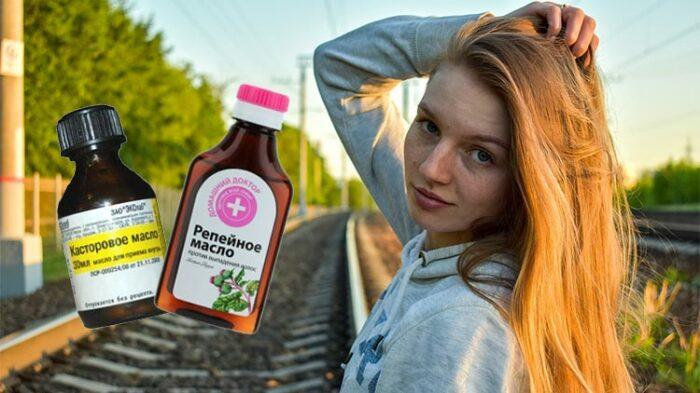 Касторовое масло в тандеме с репейным полезно для кожи головы / Фото: avon-061.ru