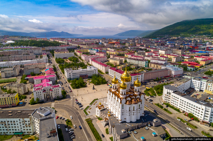 Северо-восточный российский город-порт с населением 100 000 появился в 1929 году / Фото: gelio.livejournal.com