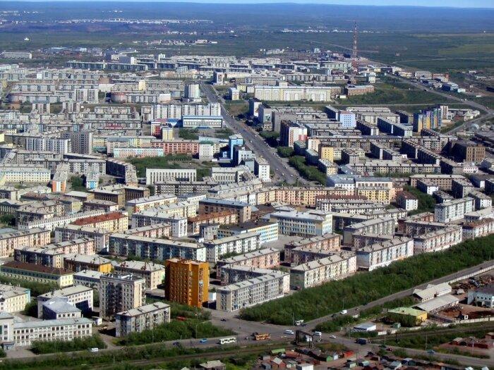 Город Воркута был полностью построен узниками Воркутлага / Фото: Twitter›mporhun