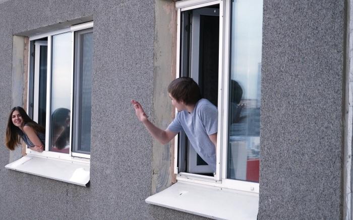 Считалось, что жители первого этажа могли спокойно выйти из квартиры и оказаться на улице / Фото: m.123ru.net