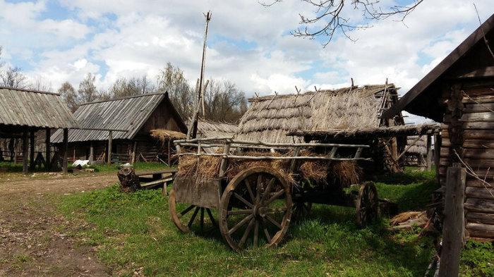 В некоторых домах сохранились русские печи / Фото: frosya-hod.livejournal.com