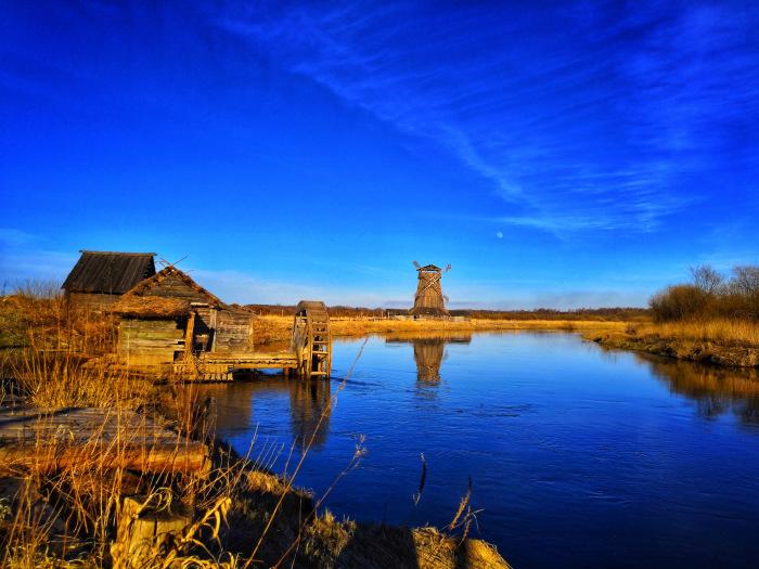 Мельница на околице деревушки на берегу реки Сороть / Фото: drive2.ru