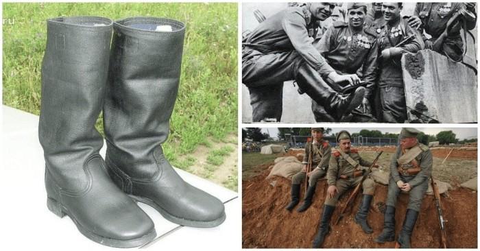 Изначально из кирзы шили не сапоги, а амуницию для лошадей, сумки для боеприпасов / Фото: ok.ru