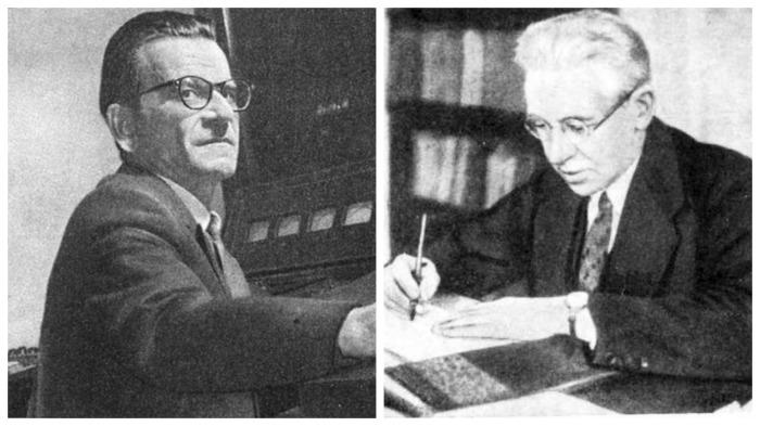 Советские ученые Сергей Лебедев и Борис Бызов / Фото: socialego.mediasole.ru