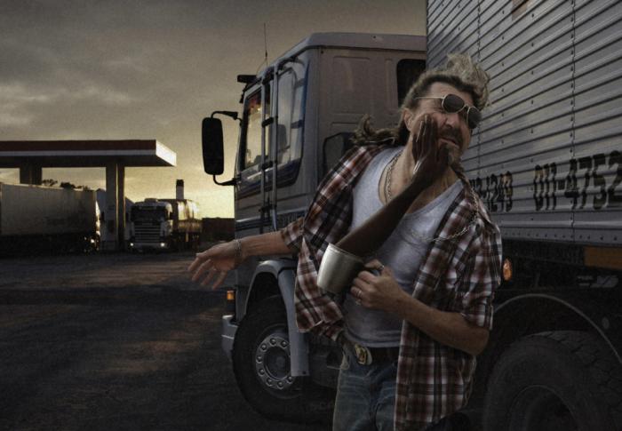 У дальнобойщиков присутствует такое выражение, как «эффект тридцатого километра» / Фото: adeevee.com
