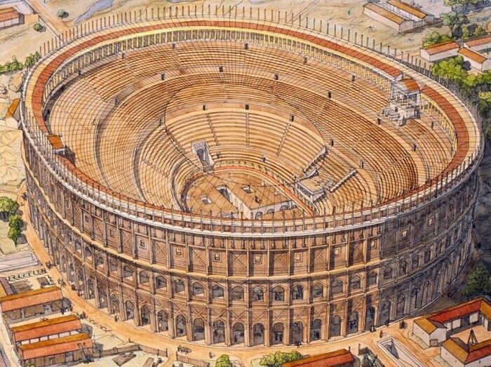 Римский Колизей: почему стены амфитеатра в дырах, как головка сыра