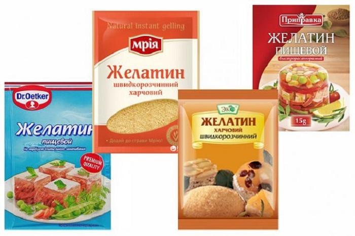 Количество аминокислот в желатине зависит от природы его образования / Фото: mariokomi.ru