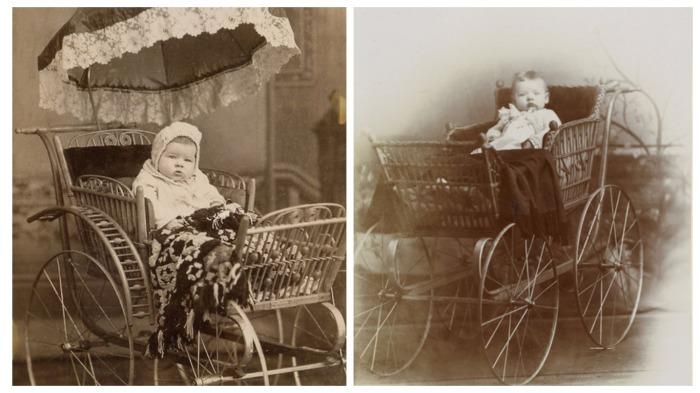 Для лета выпускались плетеные коляски / Фото: englishrussia.com