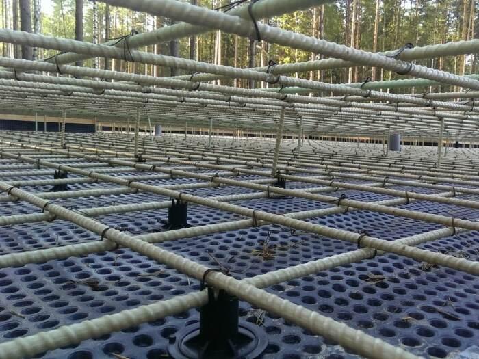 Полимеркомпозитная арматура значительно удешевляет строительство, поэтому активно используется в перекрытиях, фундаменте / Фото: vbud.in.ua