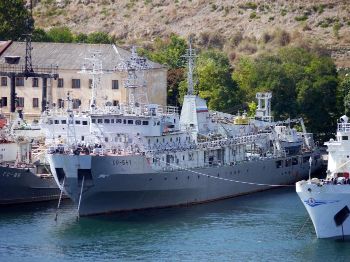 Самый первый корабль размагничивания серии 130 был спущен на воду в 1984 году / Фото: kchf.ru