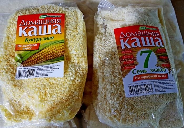 Для панировки понадобится не мука и панировочные сухари, а кукурузная каша быстрого приготовления / Фото: dnevnik-pensionerki.ru