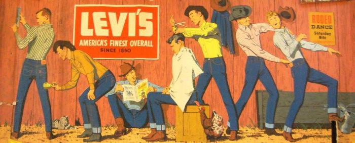 Реклама джинсов / Фото: goodhouse.com.ua