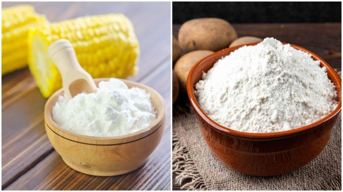 В зависимости от блюд следует выбирать крахмал: картофельный или кукурузный / Фото: chefkonditer.ru